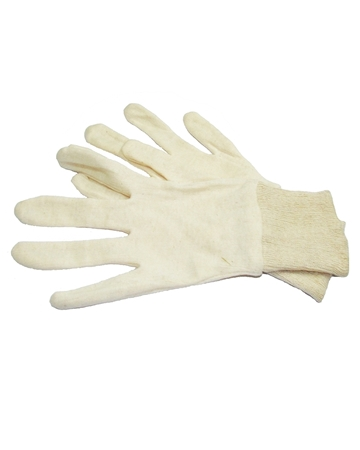 Picture of Cotton White  Gloves
