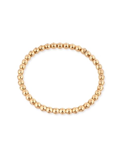 """תמונה של טבעת גולדפילד מחוט כדורי צהוב 3 מ""""מ מידה 5"""