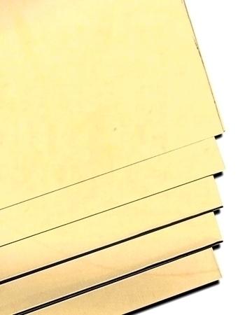 """תמונה של פח 14K צהוב חצי קשה 0.15 מ""""מ"""