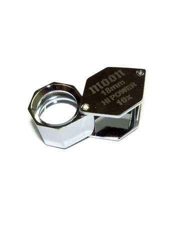 Picture of Loupes 18mm small chrome 10X
