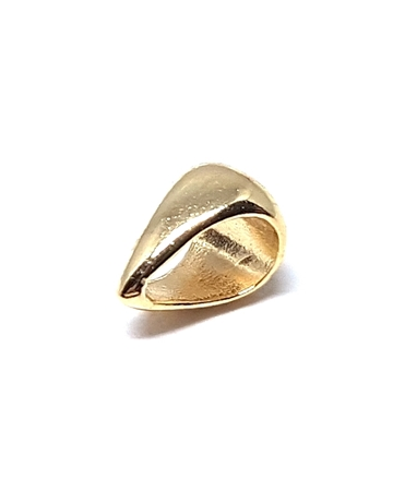 Picture of 14K Yellow gold 6.1mm Wide Cast Bail