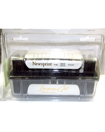 Picture of Newsprint Punches Letter U Case Set -3mm