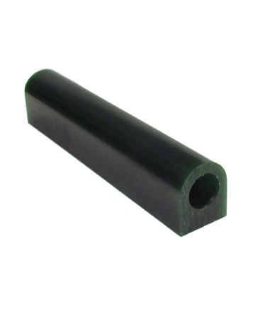 Picture of MATT Wax Ring Flat Green Hard Tube With Hole 1""