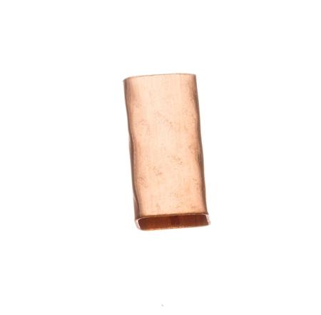 """תמונה של צינור גולדפילד אדום מרובע 5/10 מ""""מ מרוקע"""