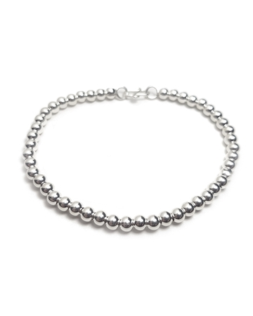 Picture of Sterling Silver Flexible Bead Bracelete