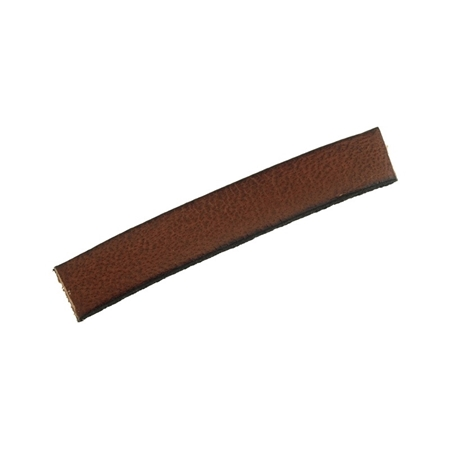 Picture of Leather Brown Flat Strip 2X7mm