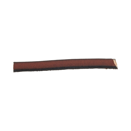 Picture of Leather Brown Flat Strip 4X2mm