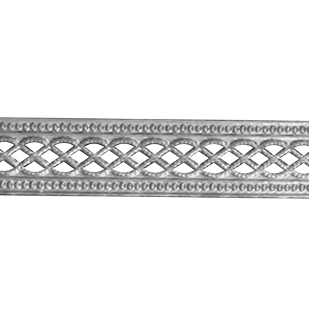 Picture of 935 Silver Gallery Pattern  Strip 3151