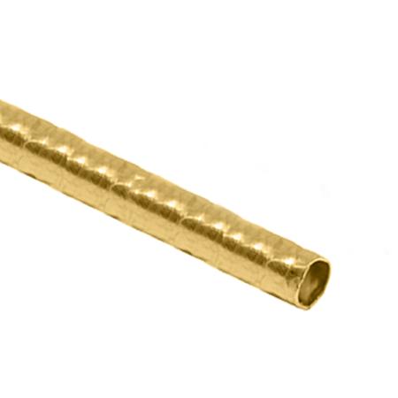 """תמונה של צינור גולדפילד צהוב עגול מרוקע 7מ""""מ/0.3מ""""מ"""