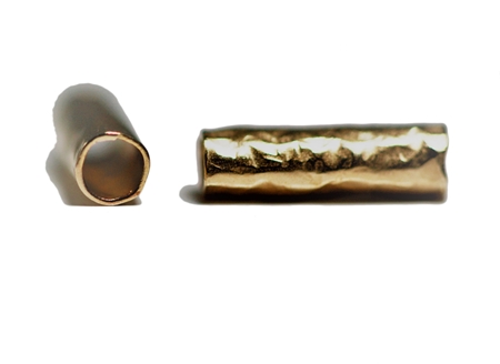 Picture of Gold Filled 7/10mm Hammered Tube