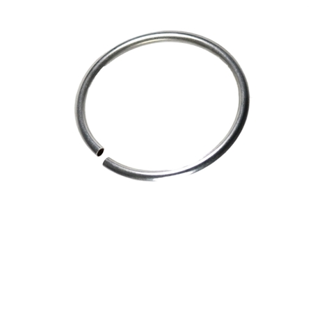 """תמונה של צינור צמיד כסף 925 עגול 6מ""""מ/0.5מ""""מ/63 מ""""מ"""