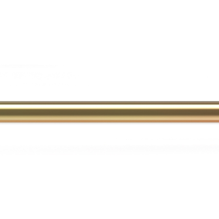 """תמונה של צינור זהב 14K צהוב קוטר 1.5מ""""מ"""