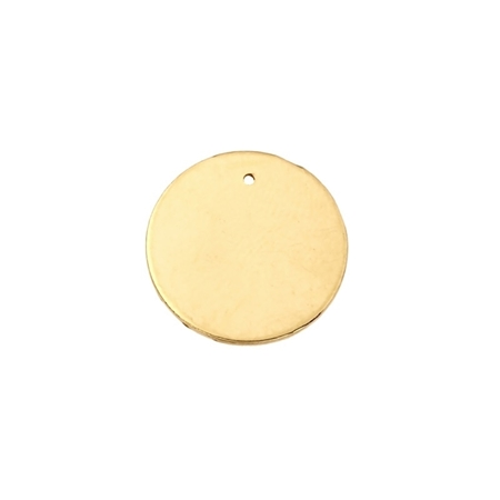 Picture of Gold Filled 20mm/0.6mm Disc W/Hole