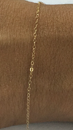 Picture of Gold Filled Oval Link Chain
