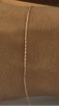 Picture of Gold Filled 2mm Open Cabel Extantion Chain