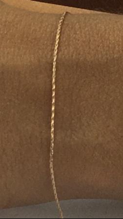 """תמונה של שרשרת גולדפילד כבל מרווח 2 מ""""מ הארכה"""