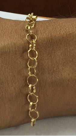 Picture of Gold Filled 5.5mm Rolo Chain
