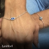 Picture of Sterling Silver Bracelet With Turquoise /Eye
