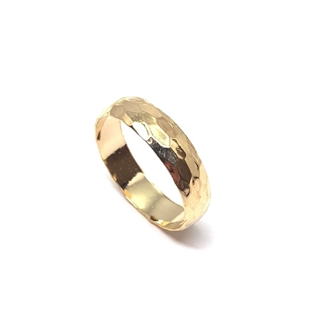 Picture of Gold Filled Gallery Strip Fashion Ring