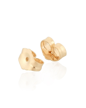 Picture of 14K Yellow Gold  Friction Ear Nut 0.660-0.914 mm