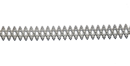 Picture of 935 Silver Gallery Pattern  Strip 1492H