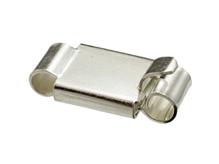 Picture of Sterling 925 Silver Box Clasp 8X16mm