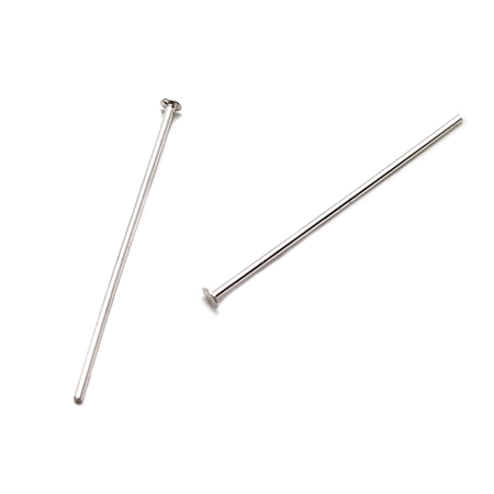 Picture of Sterling Silver 0.45mm x 25mm Head Post Pin