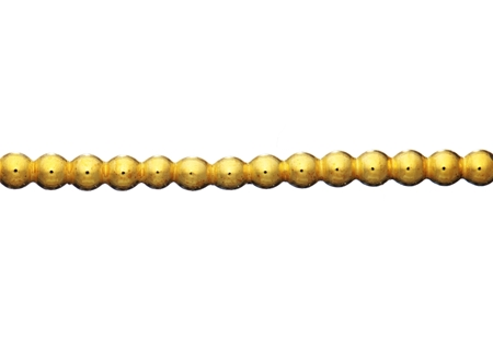 Picture of Gold Fillled 2mm Half Ball Beaded Wire