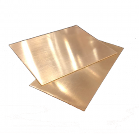Picture of 9K Yellow Gold Soldering Sheet- Half Hard