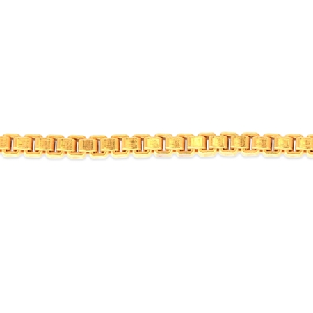 Picture of Gold Filled 1.35mm Venetian Box Chain