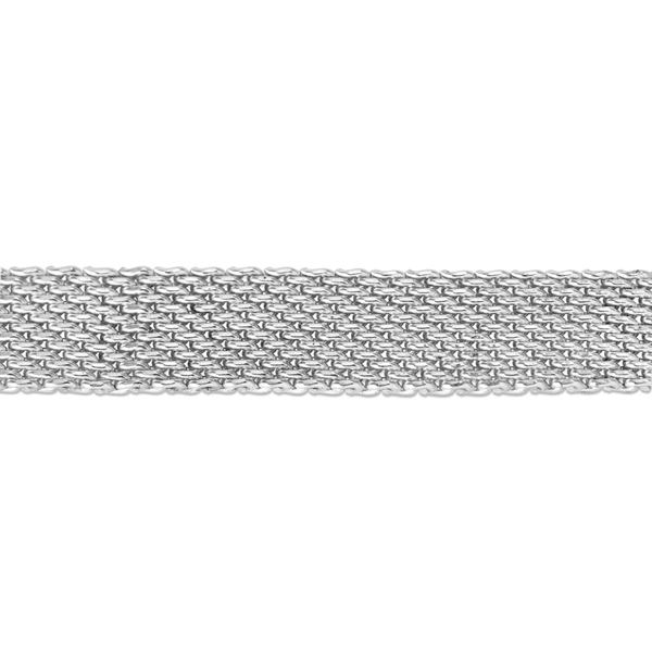 Picture of Sterling Silver 6.7x1.3mm Flat Net Chain