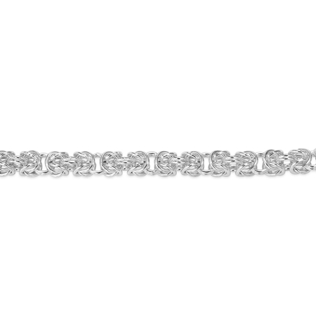 Picture of Sterling Silver 3.5mm Byzantine Chain