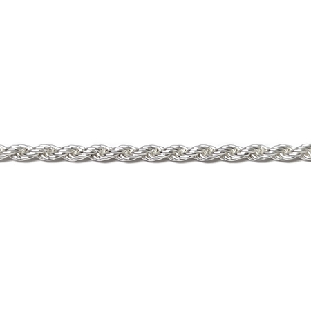 Picture of Sterling Silver 2mm Rope Chain
