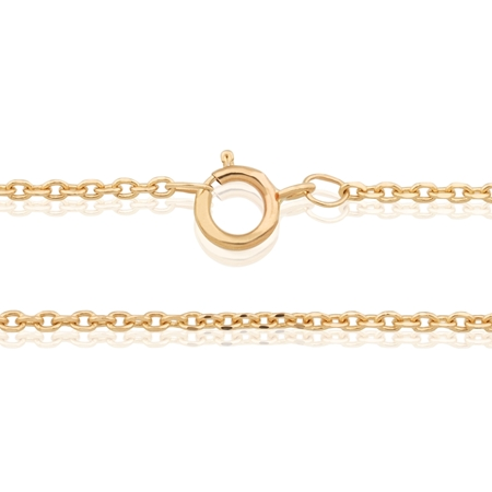 """Picture of 14K Yellow Gold 1.3mm Rolo Chain 18"""" (45cm)"""